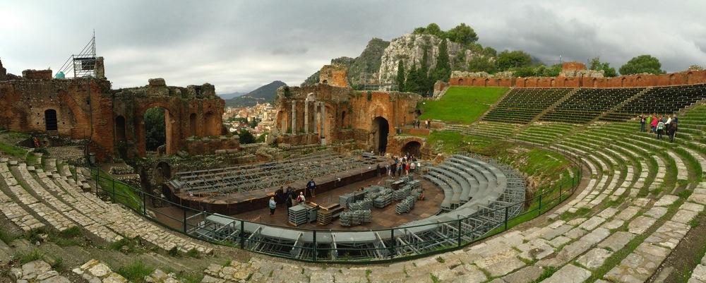Greco-Roman Amphitheater,Taormina, Sicily