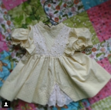 beloved handmade doll dress 3