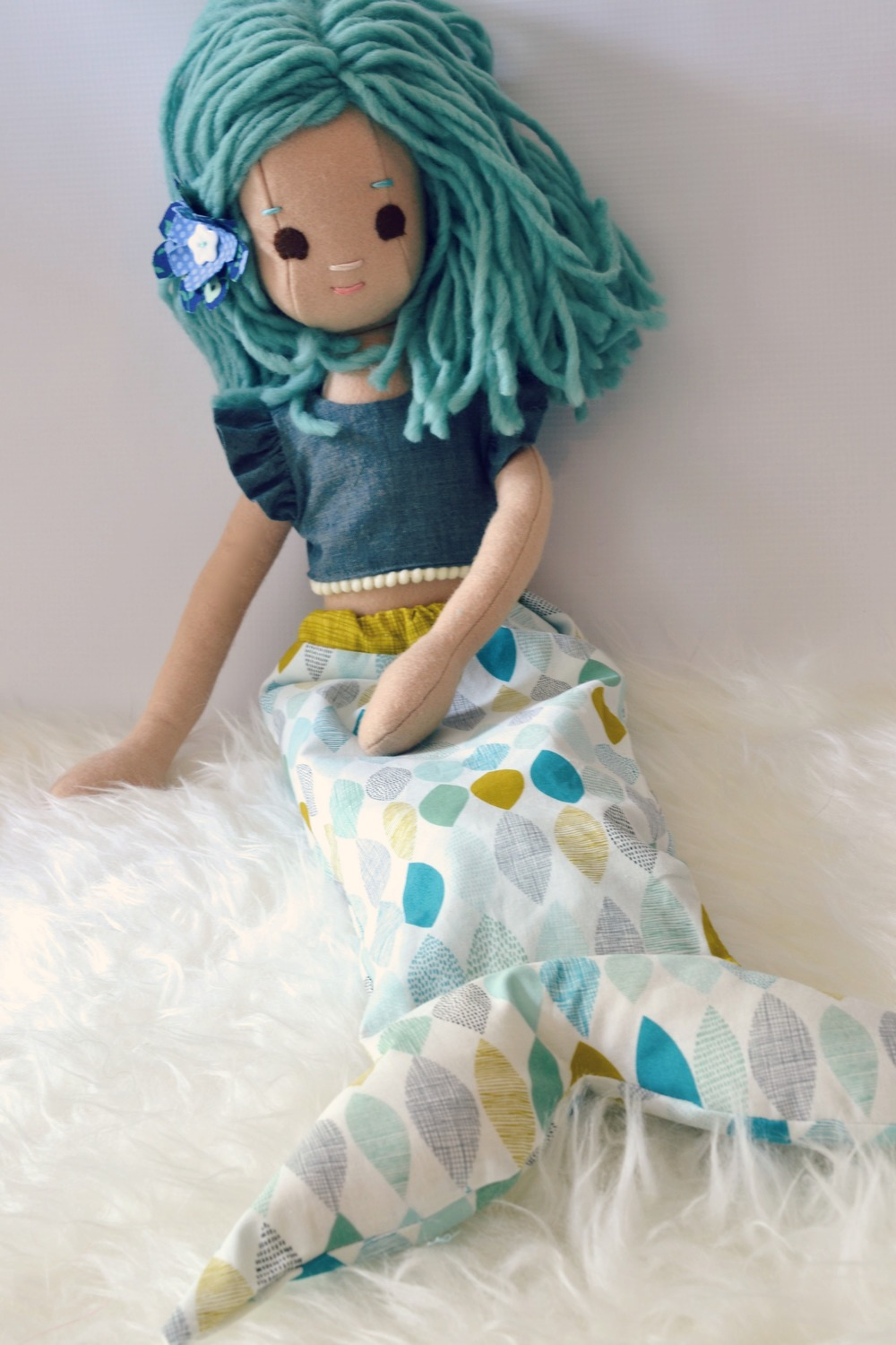 Mermaid Doll on Etsy