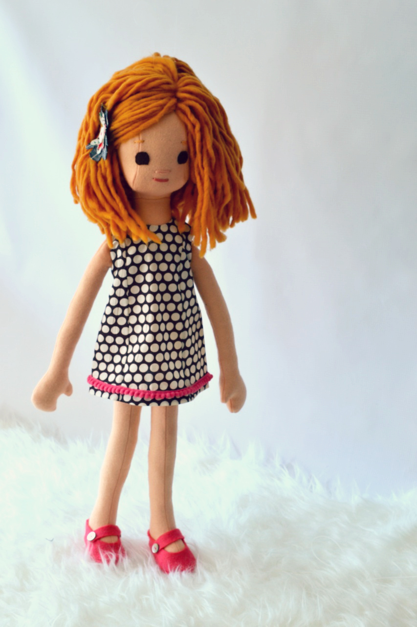 Strawberry Blond Doll on Etsy