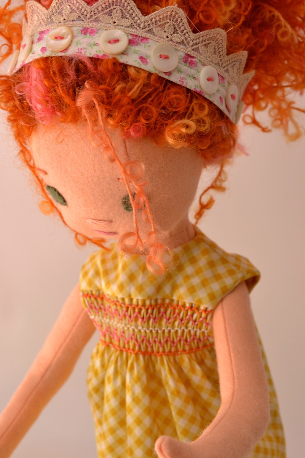 Fancy Nancy is careful to live up to her name and always wears her crown.