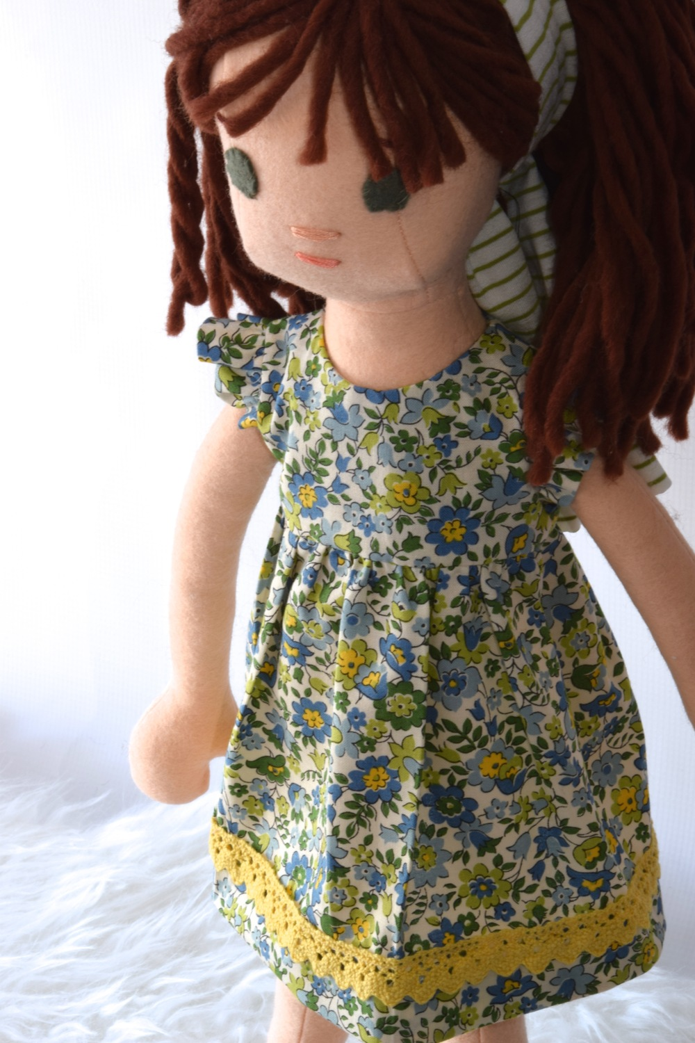 Doll Dressmaking Series: Ruffle Sleeves