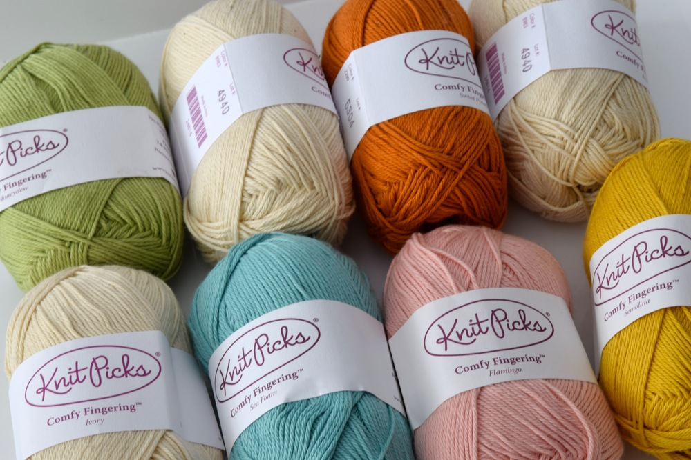The give away yarn