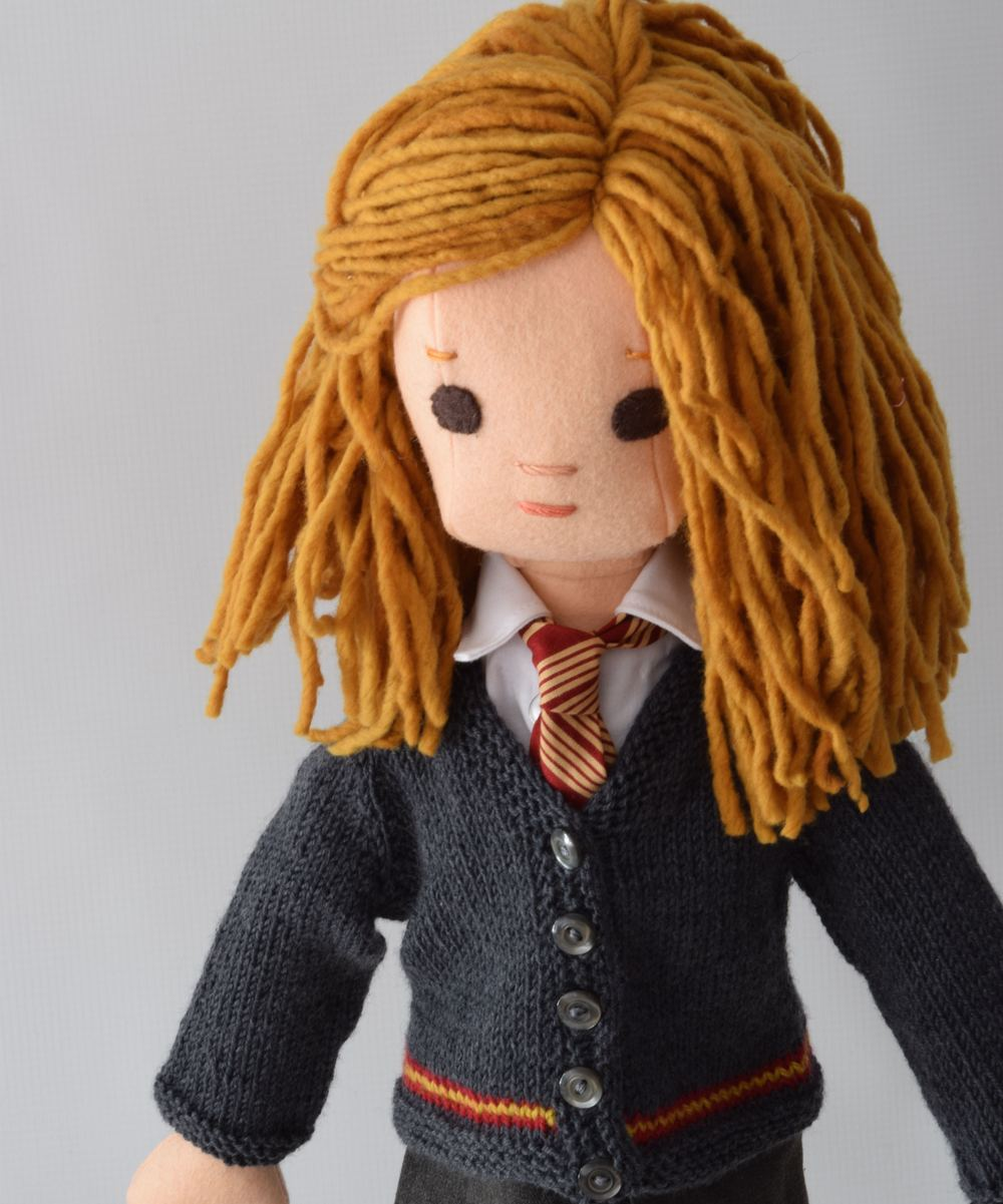 Hermione Granger as a doll