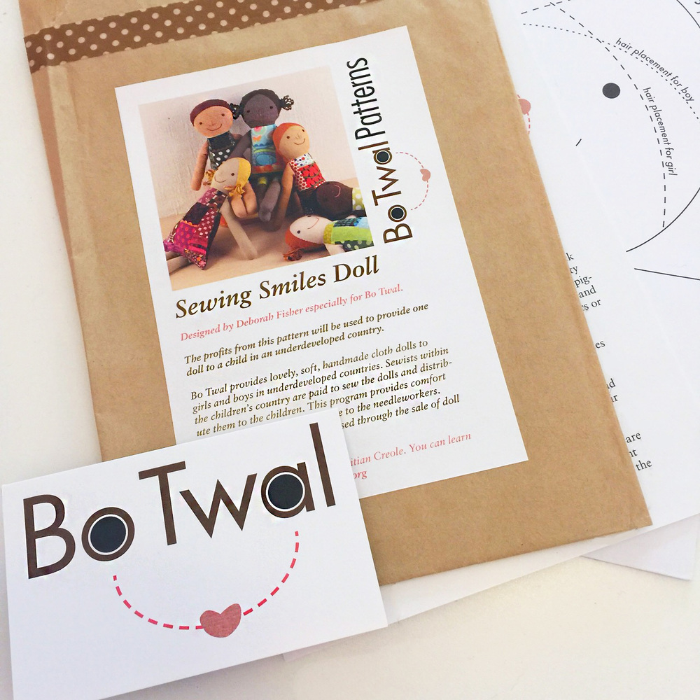 How To Profit From A Home Sewing Business: Sewing Smiles Doll Pattern Giveaway