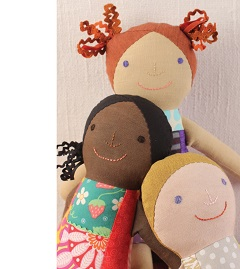 Bo Twal Sewing Smiles dolls