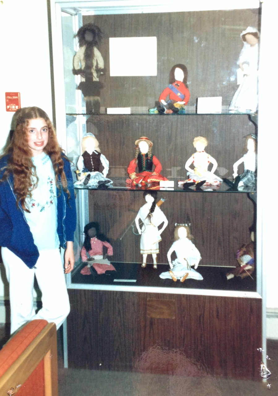 Deborah's Childhood Dolls