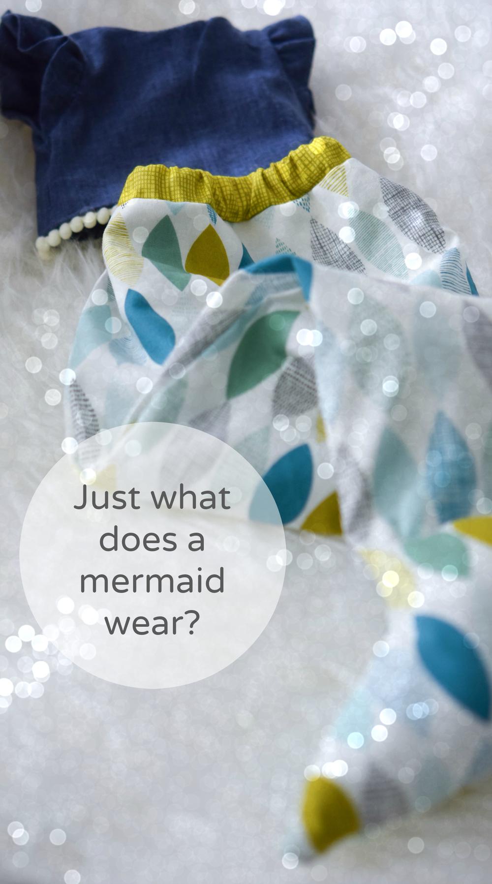 Mermaid  doll clothes