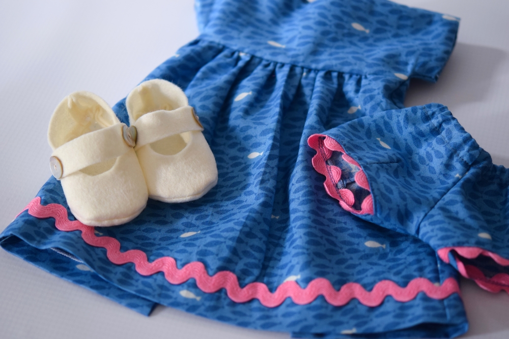 Mermaid Doll Dress Set