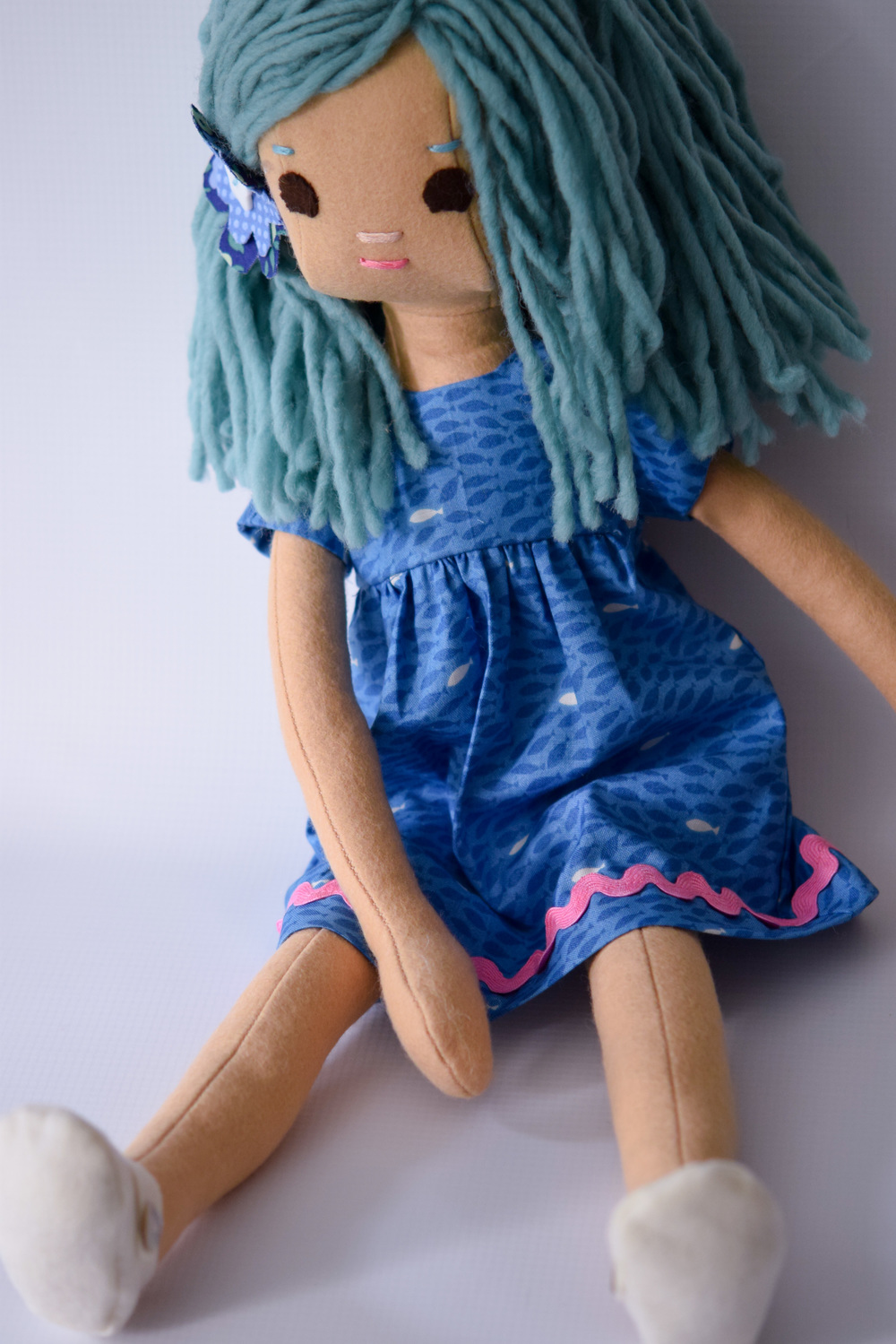 Mermaid Doll Fish Dress Set