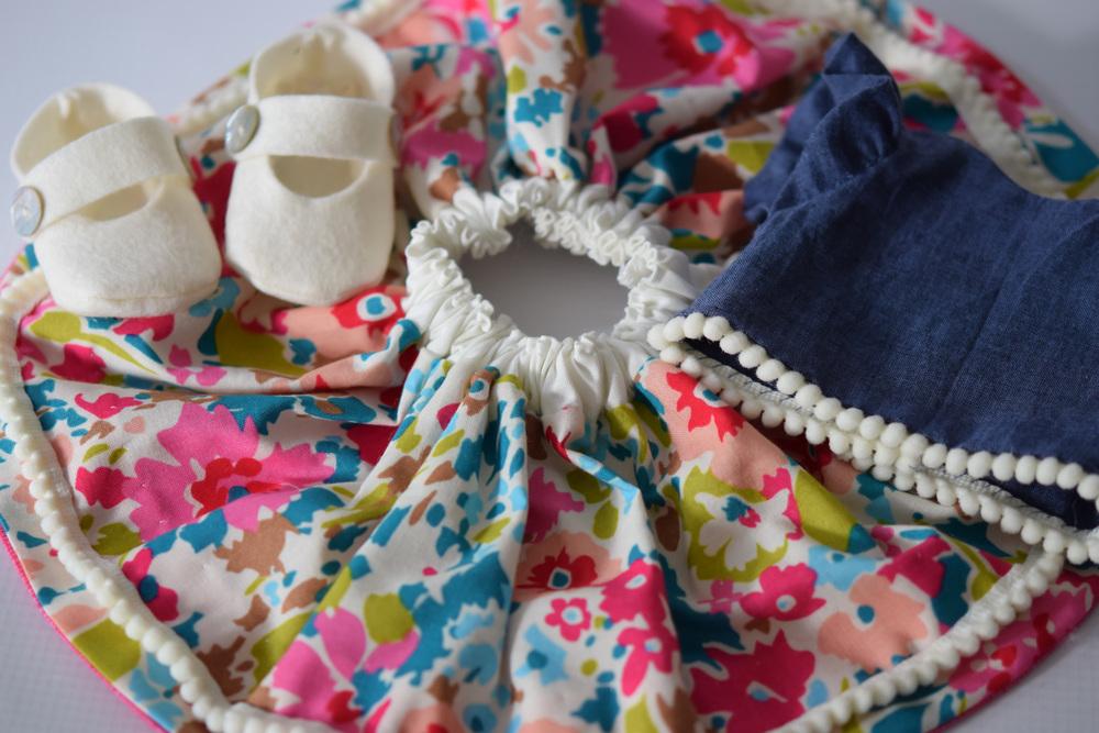 Liberty Fabric Doll Set