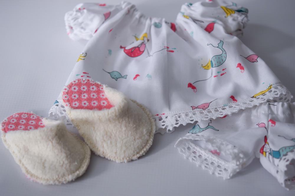 Mermaid Doll pajamas