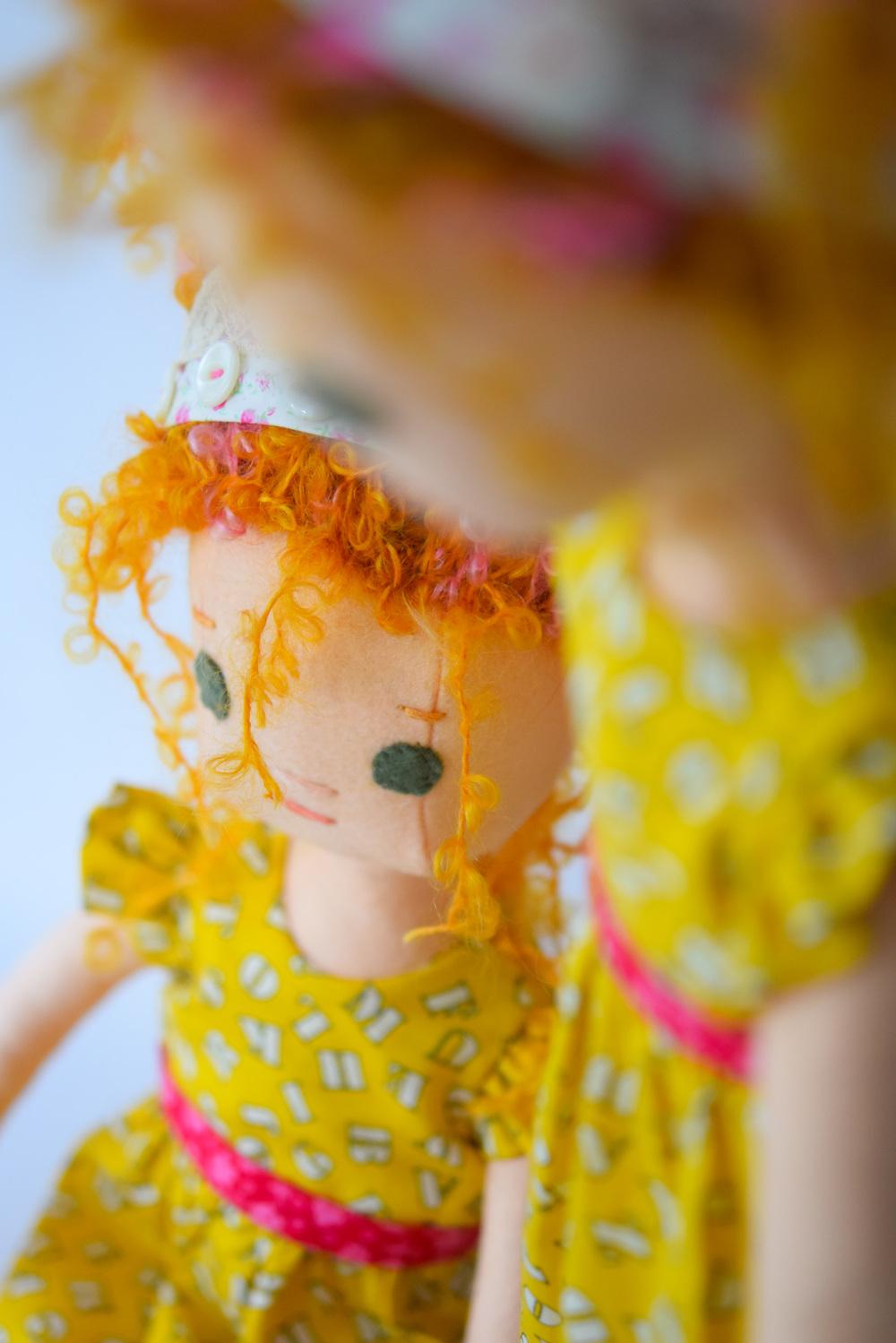 Two Fancy Nancy Dolls