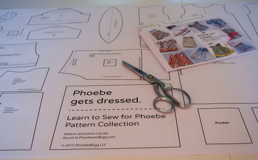 The Phoebe Doll Pattern Collection