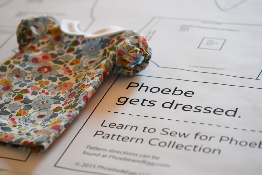 Phoebe Doll Dress Pattern Set