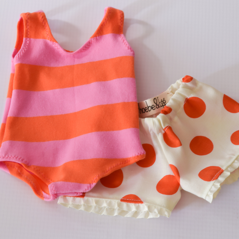 Doll Bathing Suit Set