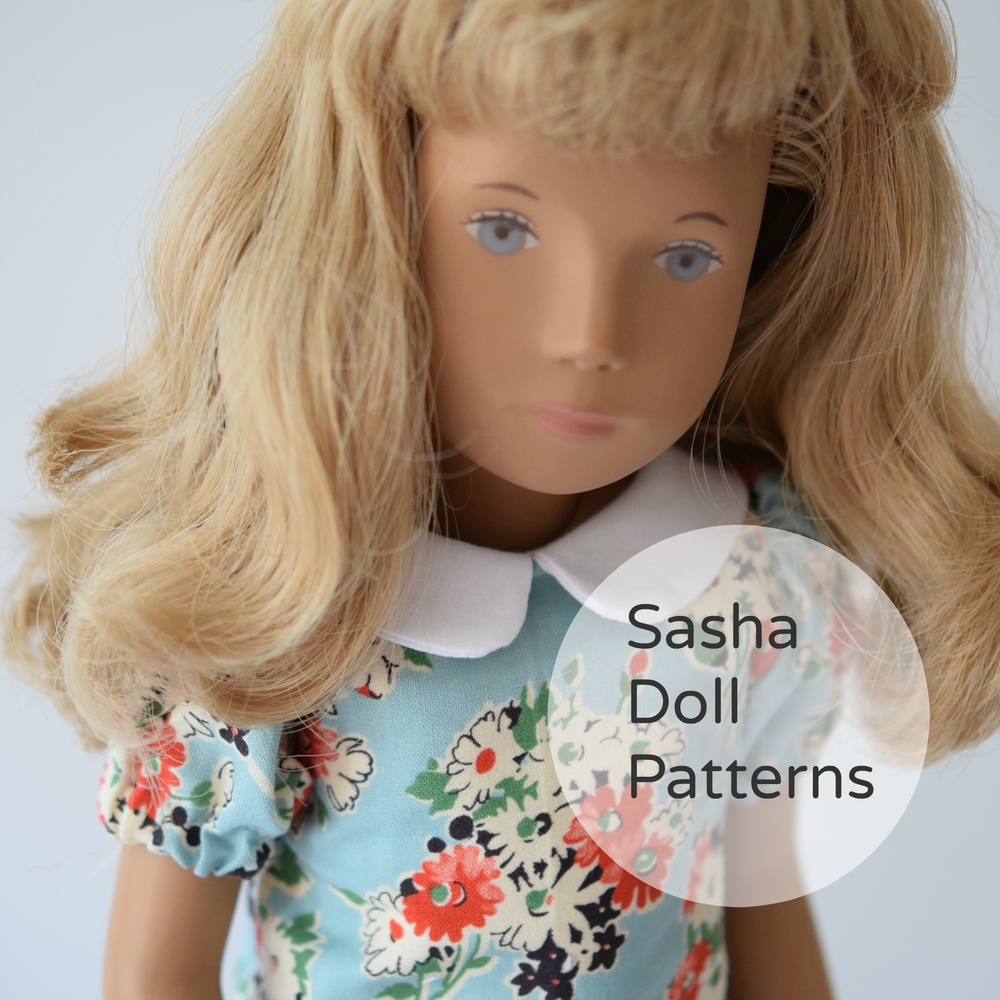 Doll Dressmaking Series: Sasha Doll Patterns! — Phoebe&Egg