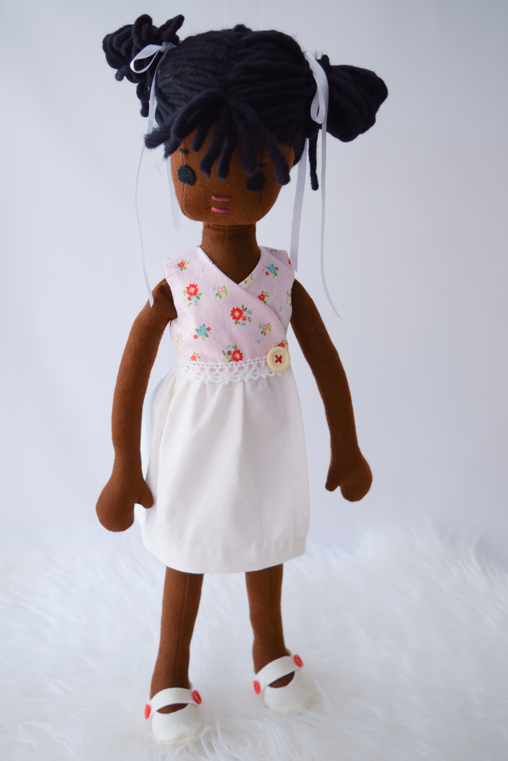 Doll Wrap Dress Tutorial