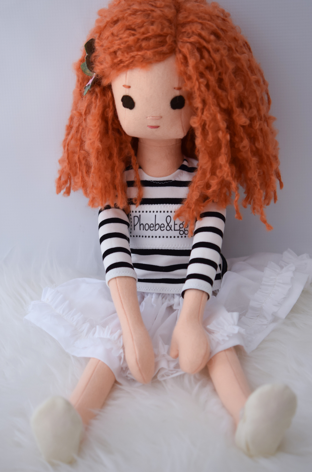 New Phoebe&Egg redhead doll