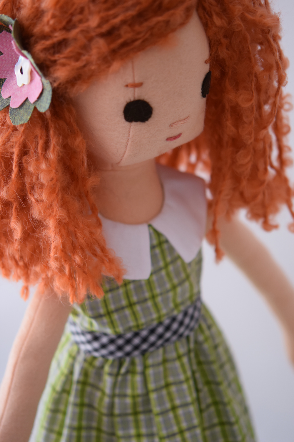 New Redhead Doll from Phoebe&Egg