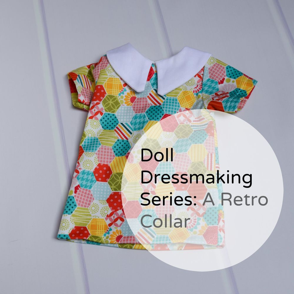 Doll Dressmaking Retro Dress