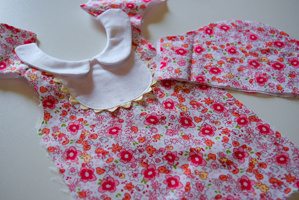 Bib Collar Dress Tutorial