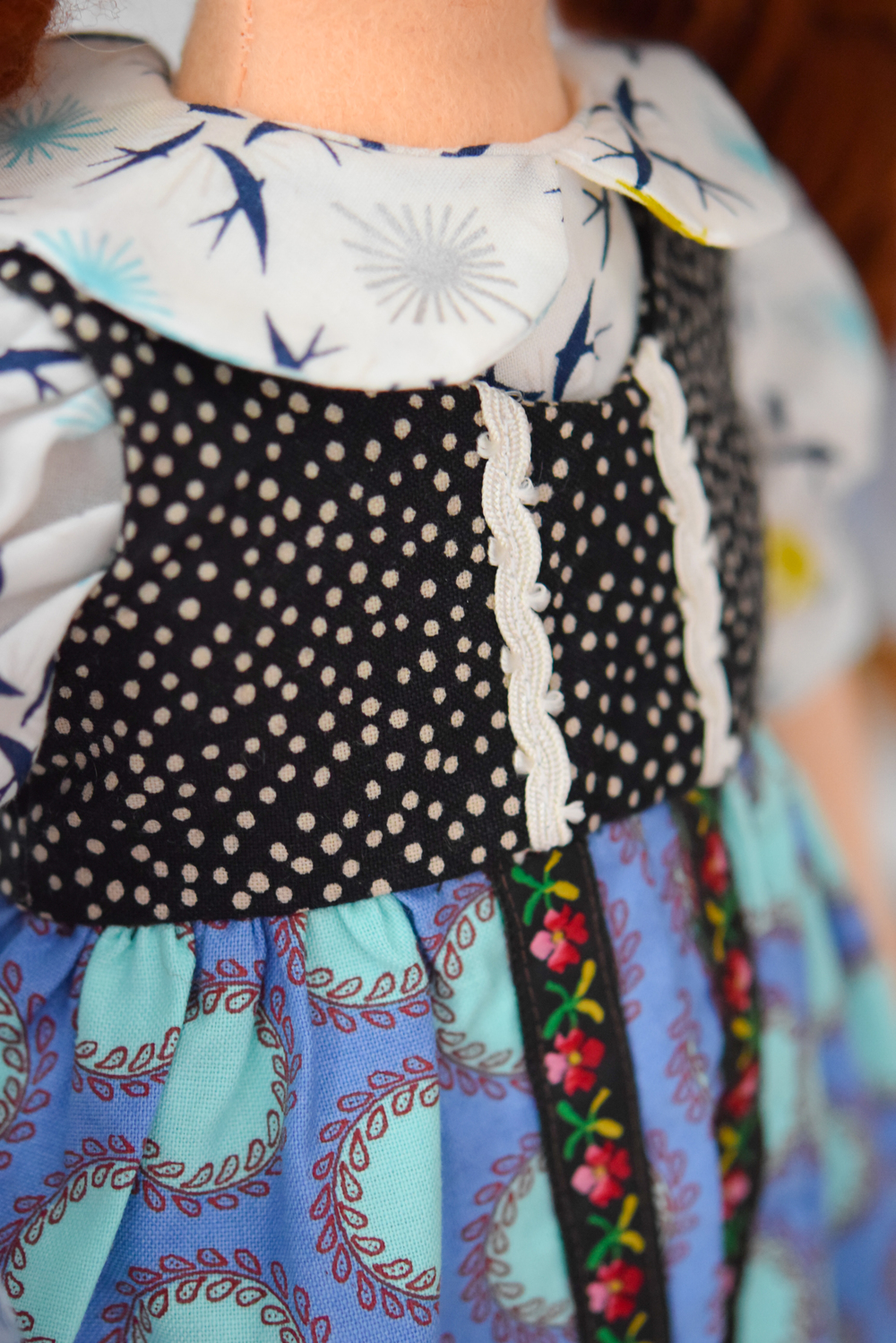 Anna | Gerda Doll Dress Detail
