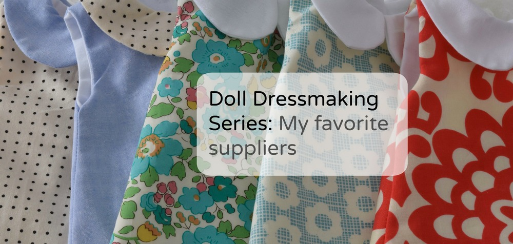 Doll Dressmaking Supplies