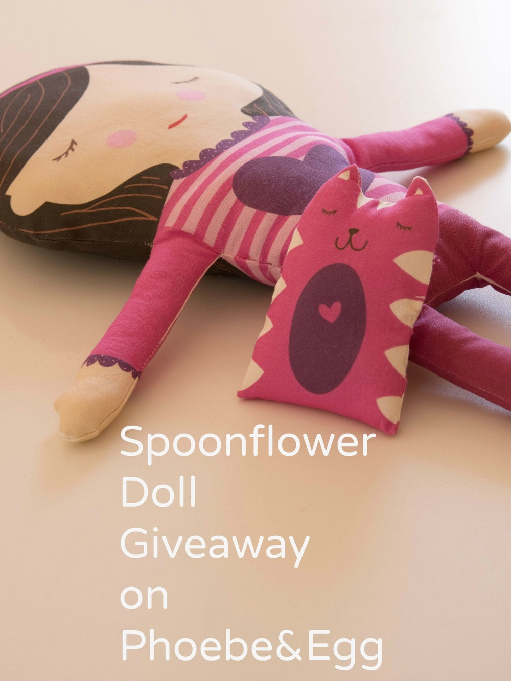 Spoonflower Doll Giveaway