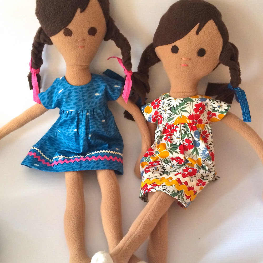 Doll Friends by Phoebe&Egg