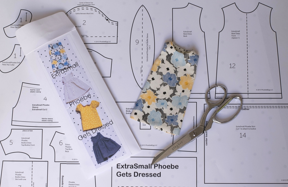 ExtraSmall Phoebe has her own pattern set!
