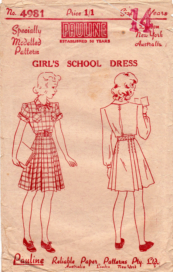 Girls Dress Pattern from All the Precious Things