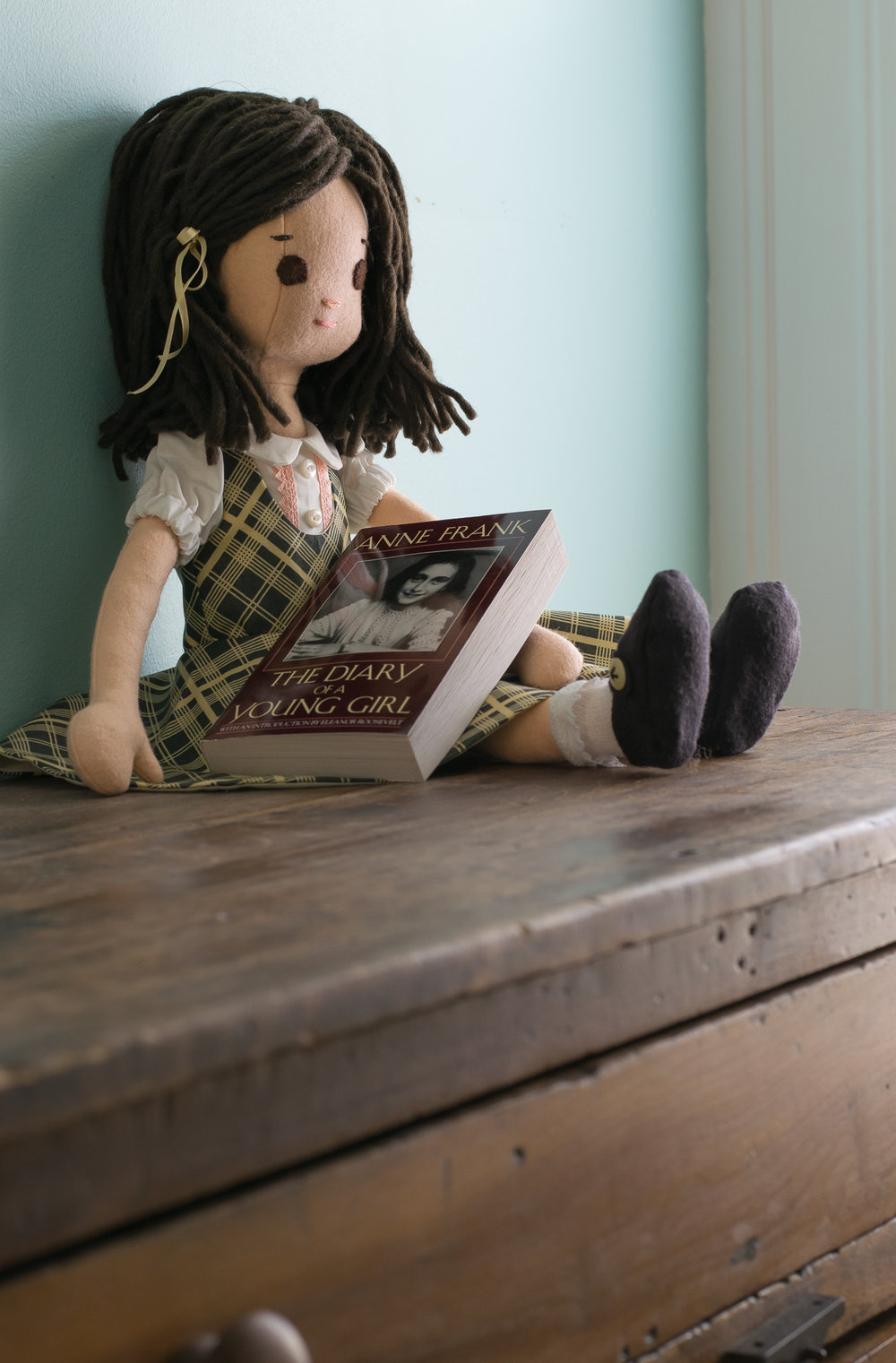 Anne Frank, the doll