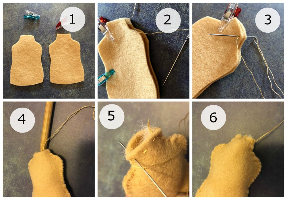 Sewing the Torso