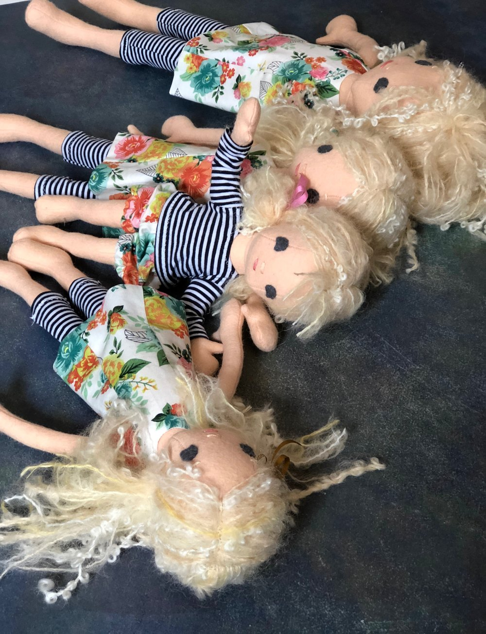 All of the current sizes