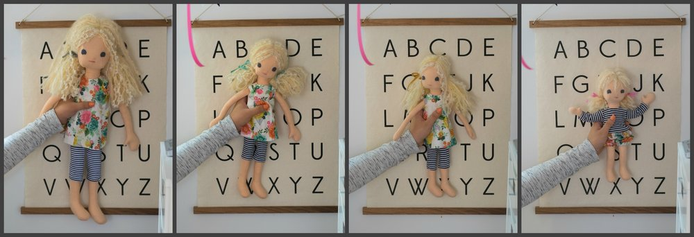 These are the fours sizes. Click to enlarge.
