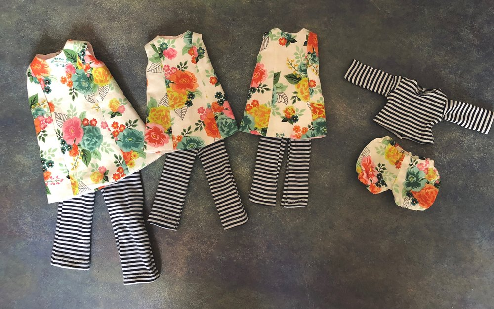 Their clothing sizes
