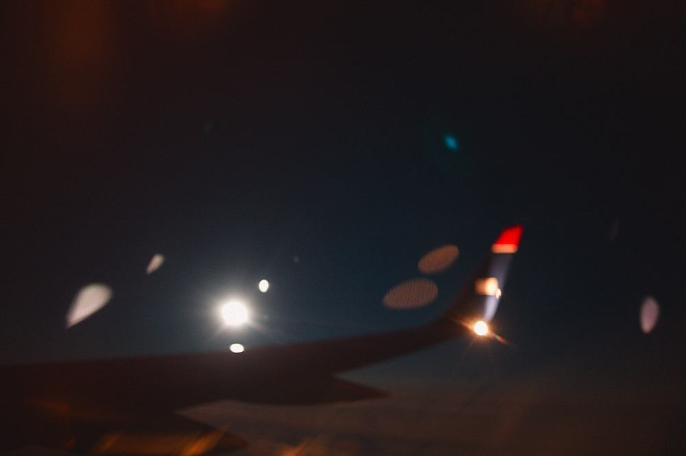 flying home full moon