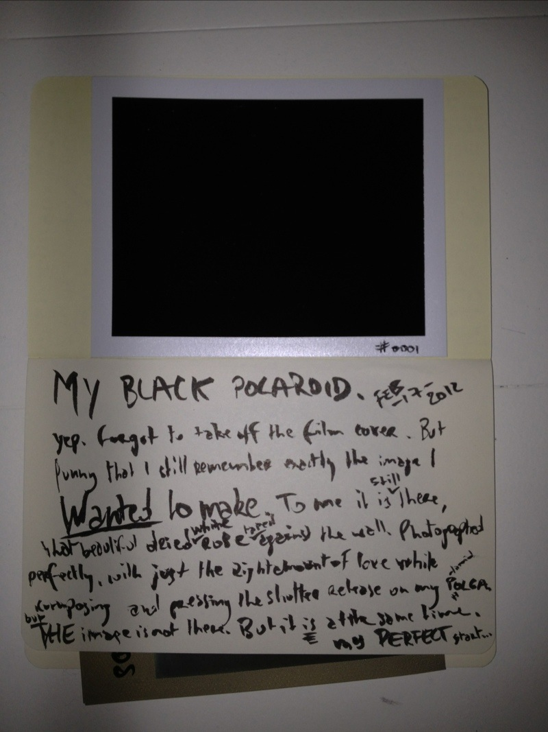 my black polaroid