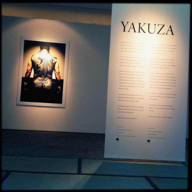 Installation view of YAKUZA at C-Mine in Genk, Belgium