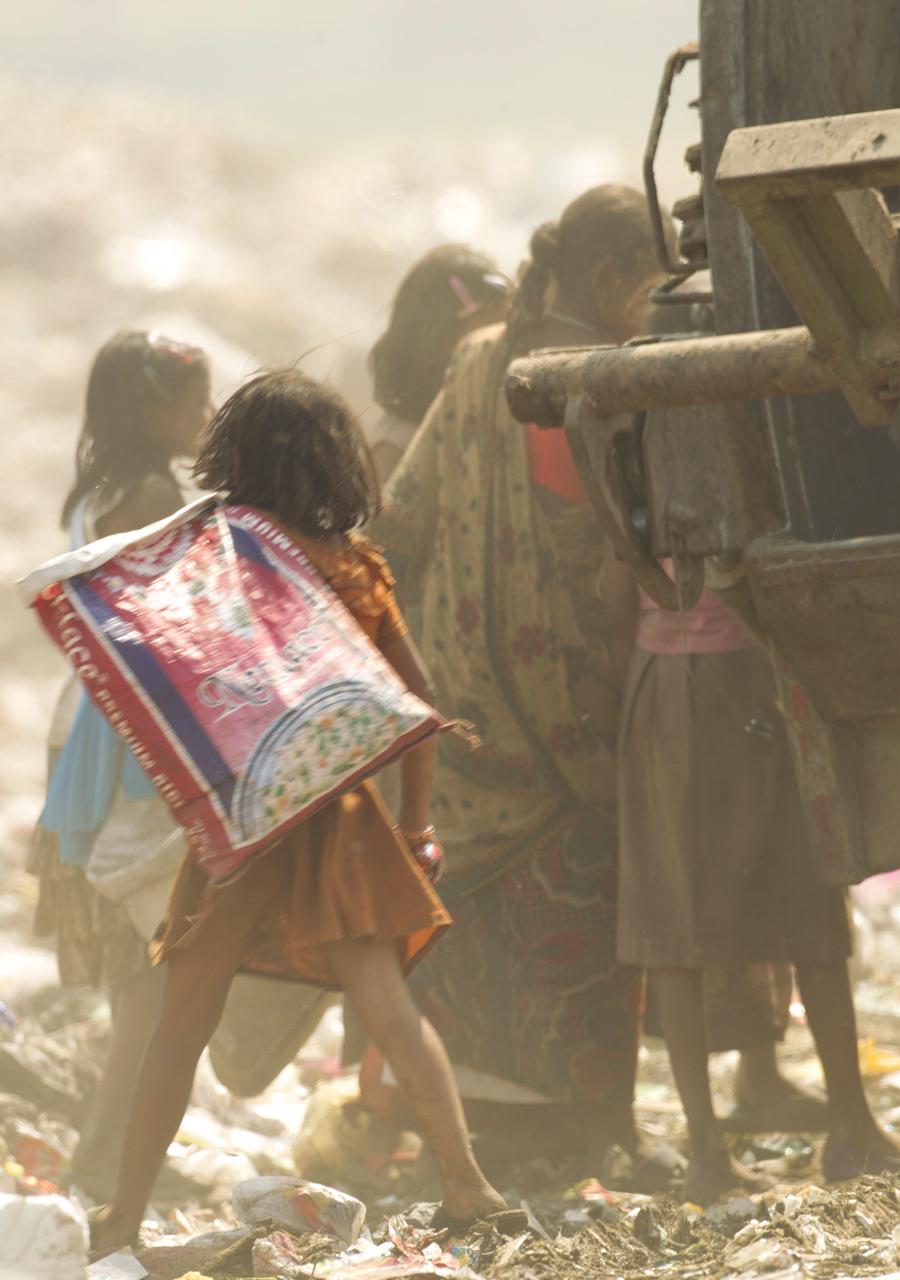 Dump children, Baragaon, Assam, Feb 2012