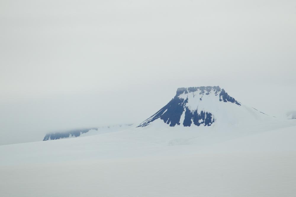 'Nunatak', Spitsbergen, July 2012