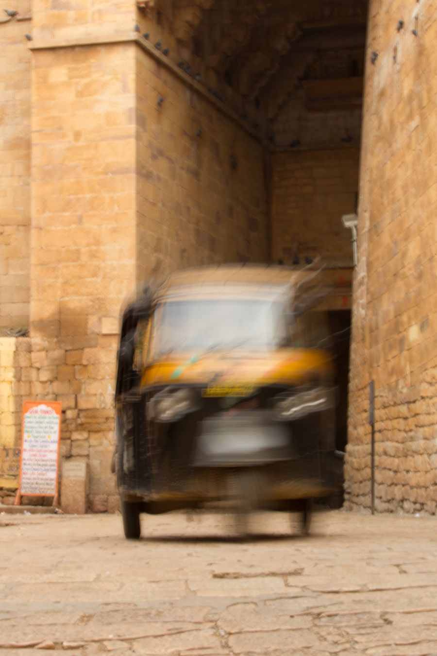 Auto Rickshaw, Jaisalmer, Rajasthan, Feb 2013