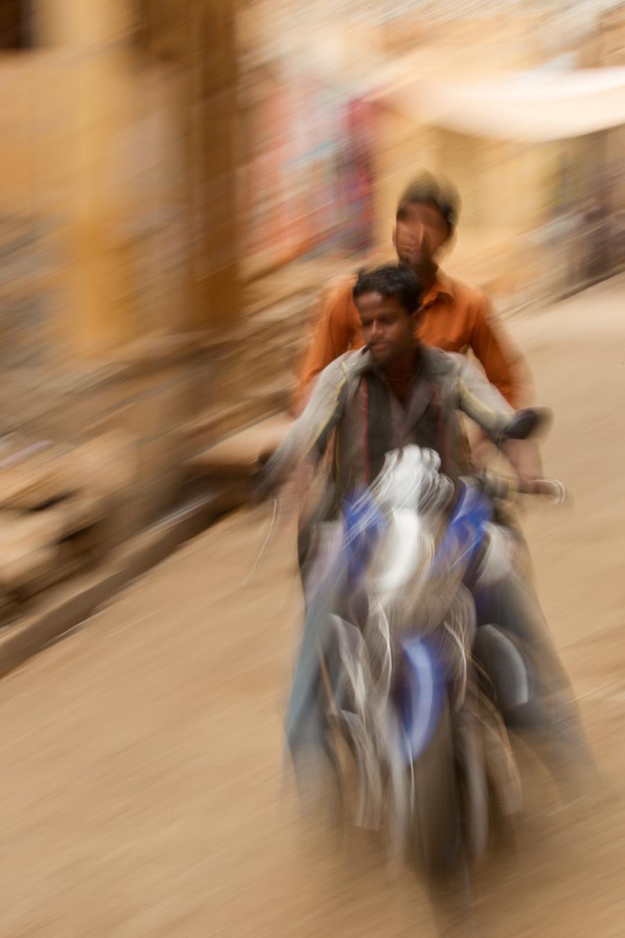 Motorbike boys, Jaisalmer, Rajasthan, Feb 2013