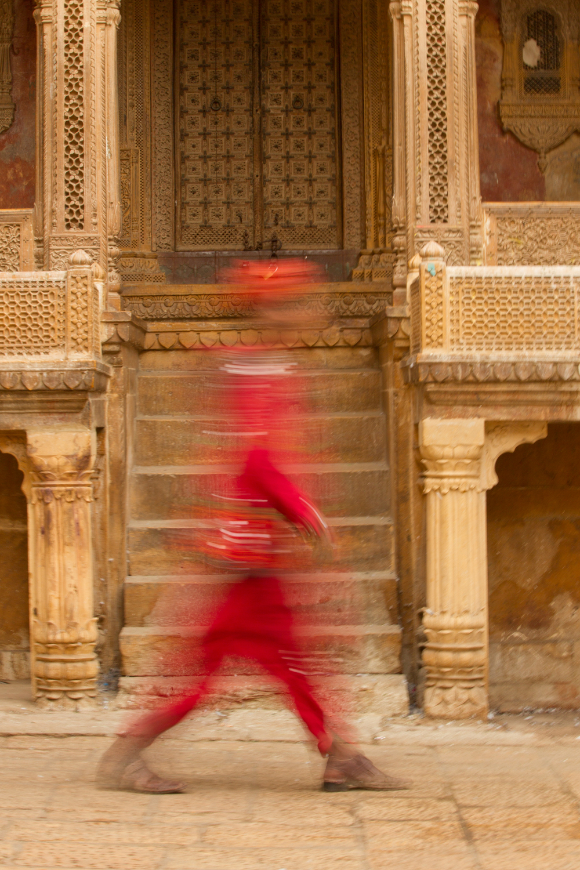 Street life, Jaisalmer, Rajasthan, Feb 2013