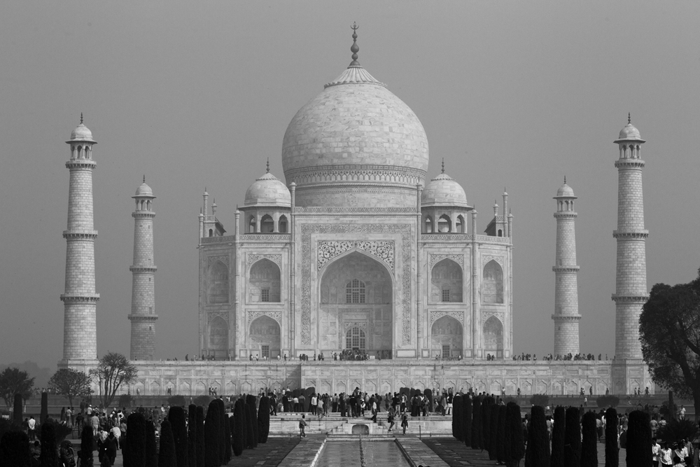Taj Mahal, Agra, Feb 2013