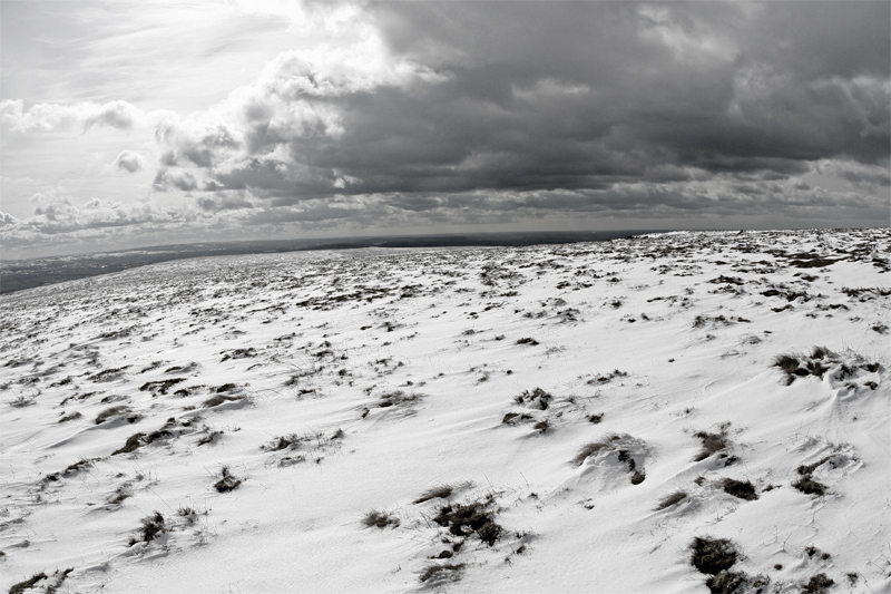 Pendle Hill summit, East Lancashire