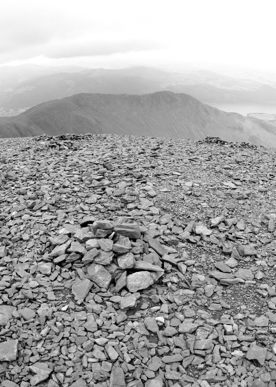 Skiddaw summit, Lake District
