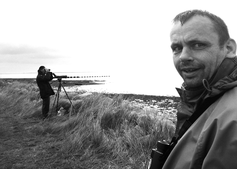 Jonathan 'Budgie' Slater at Spurn Point