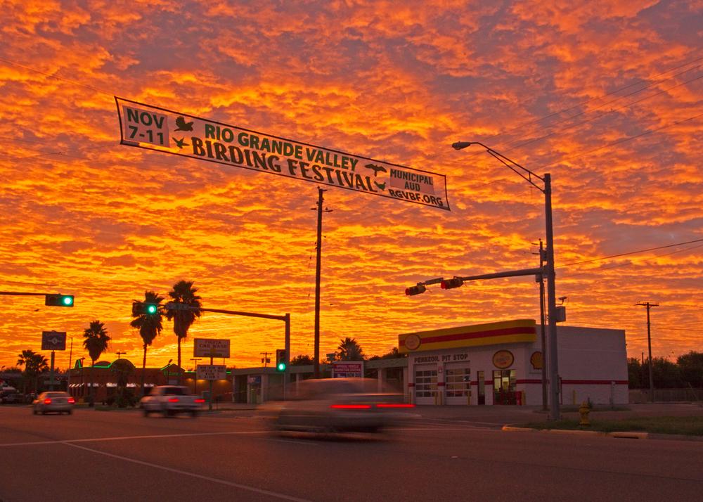 Harlingen sunrise, TX Nov 2013